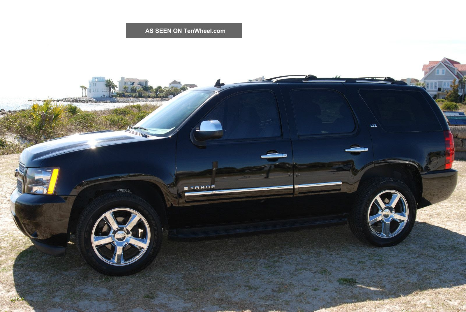 Awesome Black, Fully Loaded, 2009 Chevrolet Tahoe Ltz Tahoe photo 11