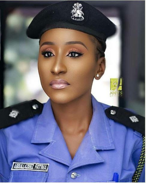 Internet Breaks After Police Woman Uploaded This Photo Online
