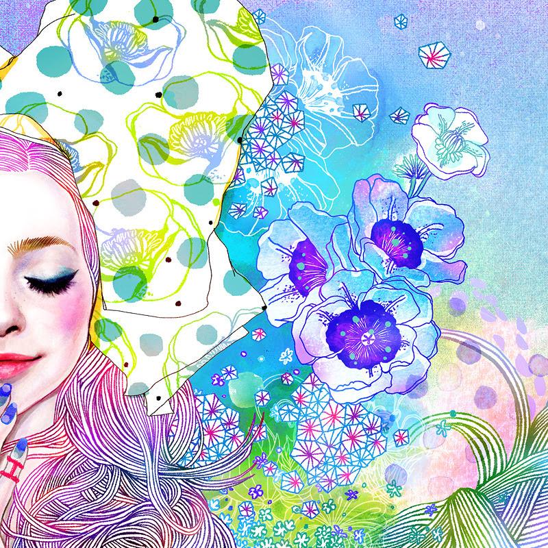Fleurs par Hajin Bae SO heureux de travailler avec GS BOUTIQUE HISTOIRE !!  Hajin Bae (aka Soulist Aurora) twitter facebook l l instagram