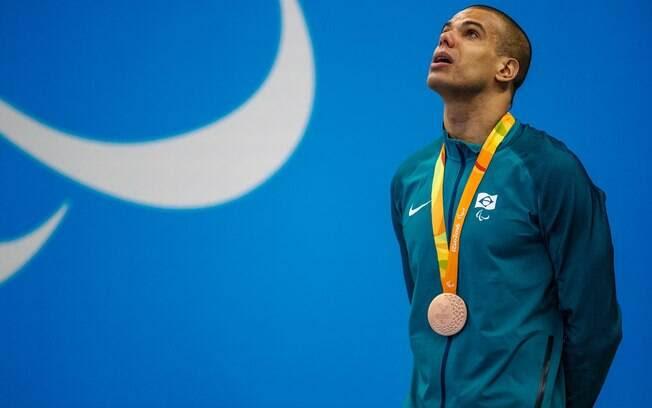 Resultado de imagem para André nadador paralimpíada