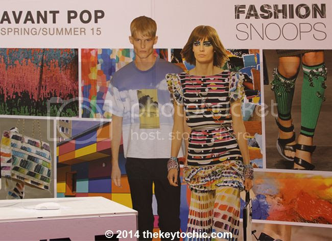 spring summer 2015 Avant Pop fashion trend forecast