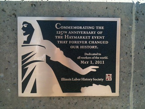 The new plaque