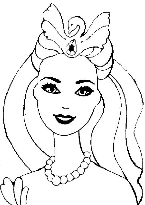 barbie ausmalbilder kostenlos zum ausdrucken  malvorlagen