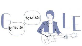 Google recordando al artista