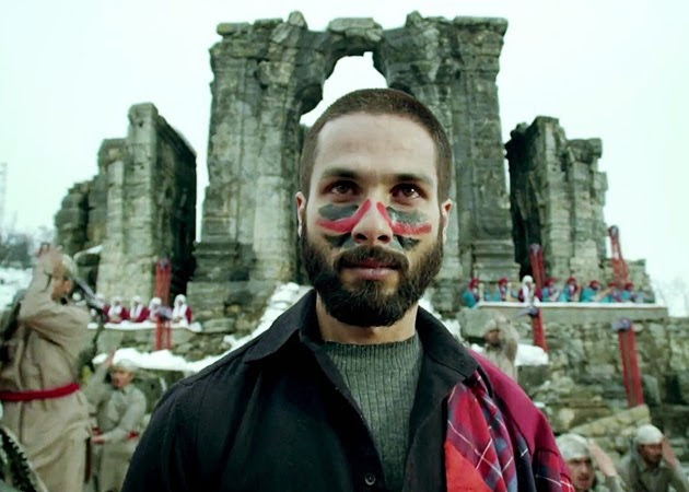 A seen in the Hindi movie - Haider