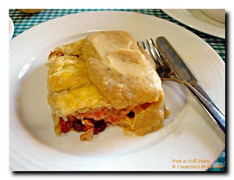 pork in puff pastry