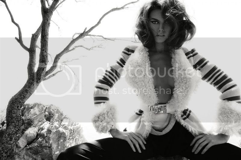 black & white,shearling