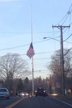 ht twitpic newtown flag kb 121214 vblog LIVE UPDATES: Newtown, Conn., School Shooting