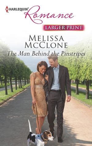 The Man Behind the Pinstripes by Melissa McClone