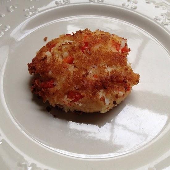 Red Crab Meat Cake Recipe