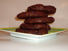 Mexican Double Choc Choc Chip Cookies