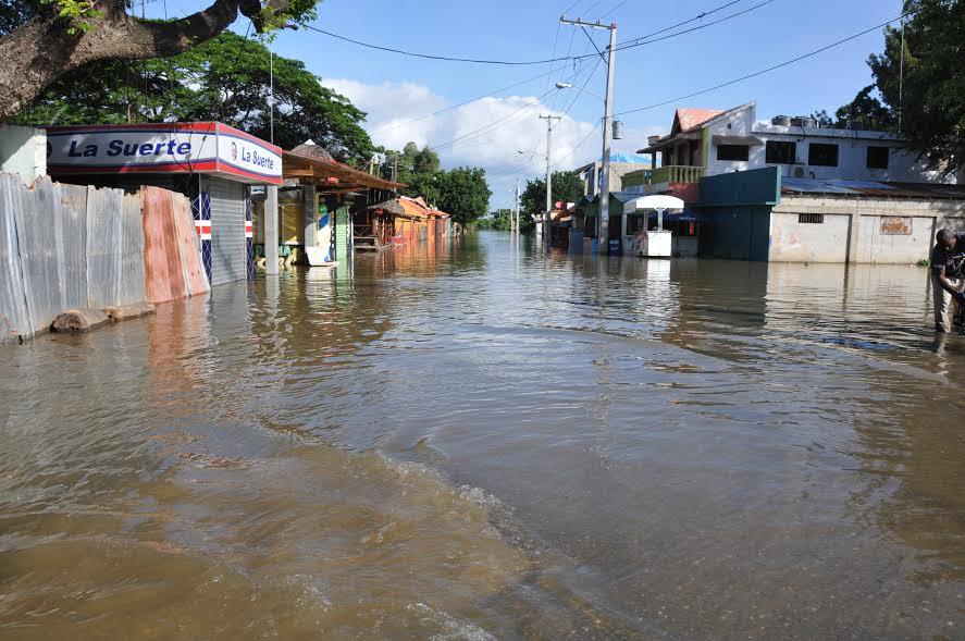 Inundaciones dañaron plantaciones en amplias zonas Montecristi y Valverde