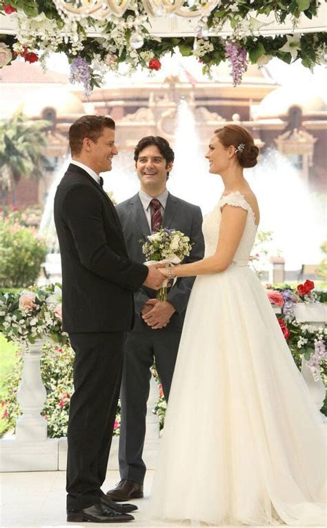 Bones from Best TV & Movie Wedding Dresses   E! News
