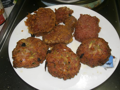 corned beef patties