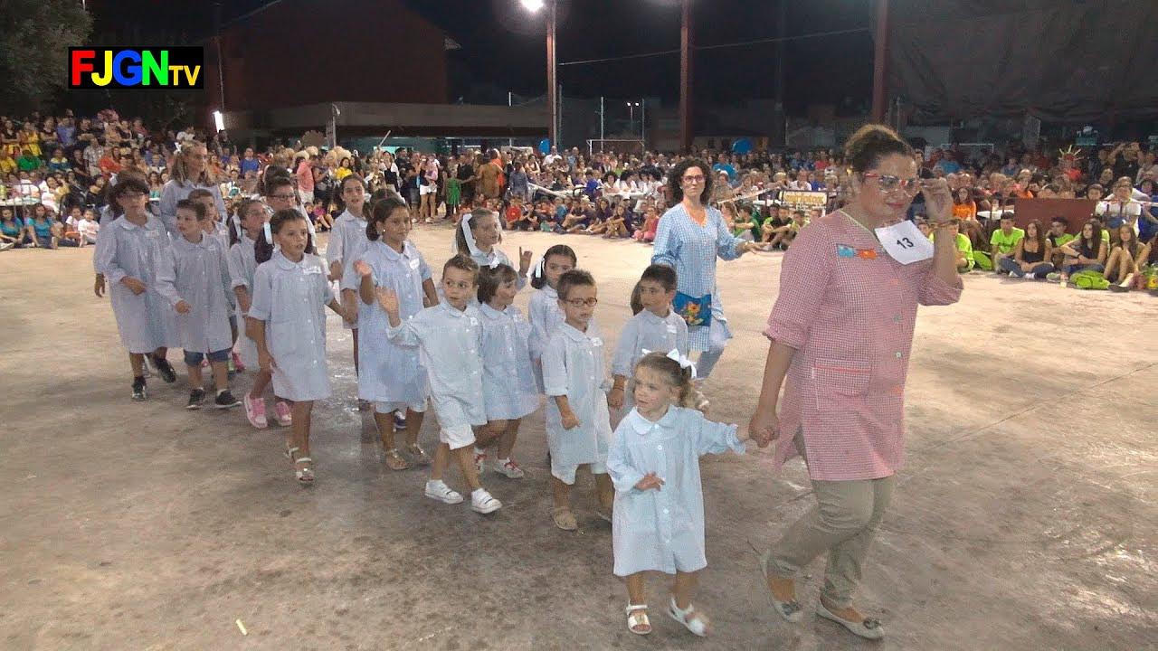 13. ELS XIQUETS A L'ESCOLA - Disfraces - Festa La Vila 2014 - La Vilavella