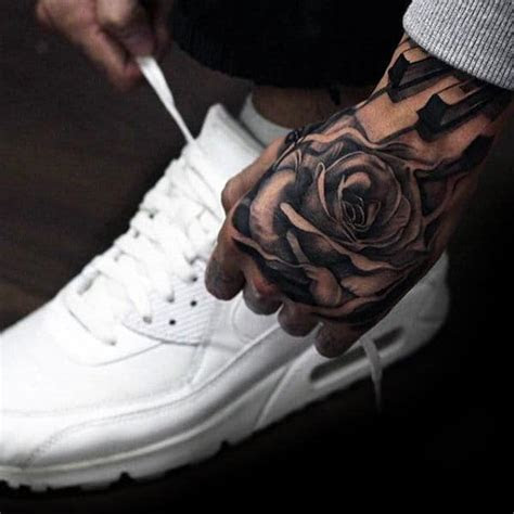 badass hand tattoos men masculine design ideas
