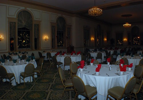 The Hawthorne Hotel Grand Ballroom at Night