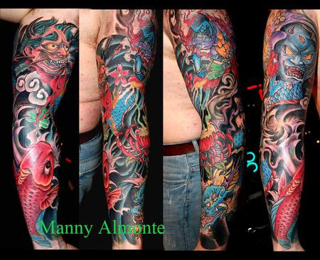 Red Dragon Tattoos Tattoos Body Part Arm Sleeve Japanese Sleeve