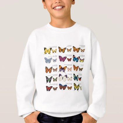 Butterfly Identification Sweatshirt