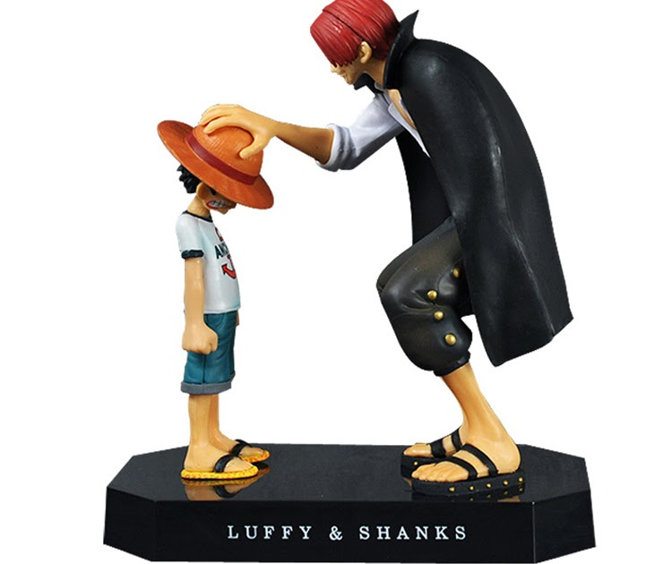 Offerte One Piece Action Figure Anime Cappello Di Paglia Rufy Shanks Rosso  Dei Capelli Ornamenti Bambola Regalo Giocattoli 17.5 Cm Bambino Modelli Pvc  ... 716b46c0a265