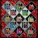 Freddy Moran pattern - houses