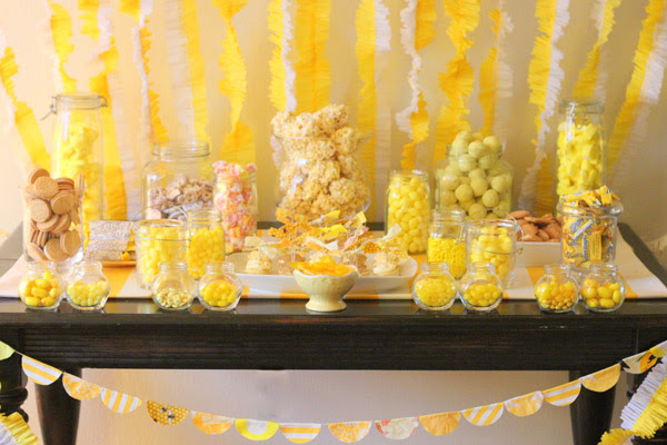 yellow-and-white-third-birthday-party