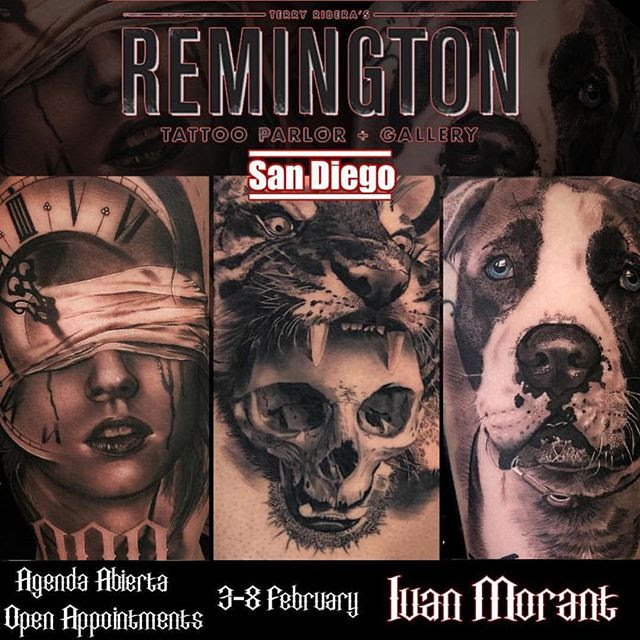 Ivan Morrant Is Coming Remington Tattoo Parlor