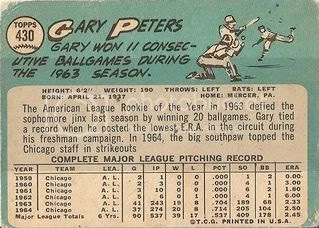 #430 Gary Peters (back)