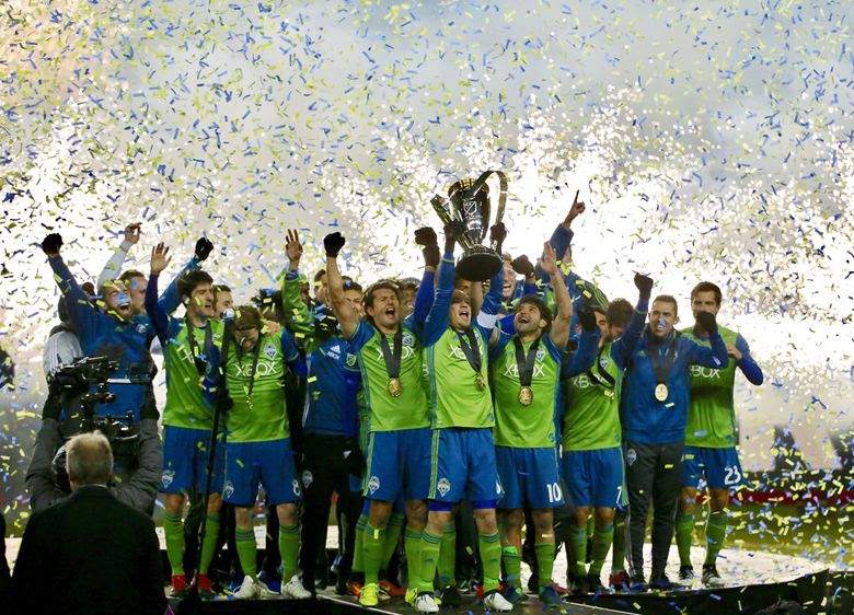Image result for seattle sounders mls cup