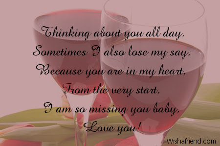 Thinking Of You Messages For Her