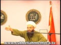 Cübbeli Ahmet Hoca Efendi Mescid Sohbeti (10-07-2008)