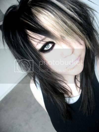 emo girls hairstyles pictures