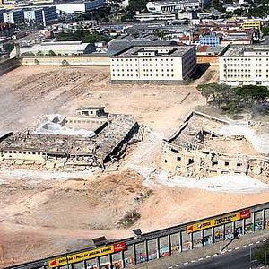 Demolição do Carandiru (Foto: Sérgio Andrade/Prefeitura de São Paulo/Agência Brasil)