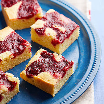 Raspberry Butter Bars | Midwest Living