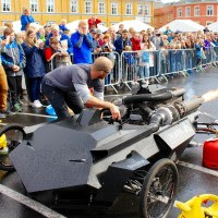 The Jet Engine car from the Sør-Trøndelag University College.