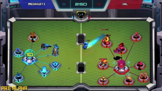 Hi-Rez is Making a 1v1 Mobile RTS Called Bot Smashers