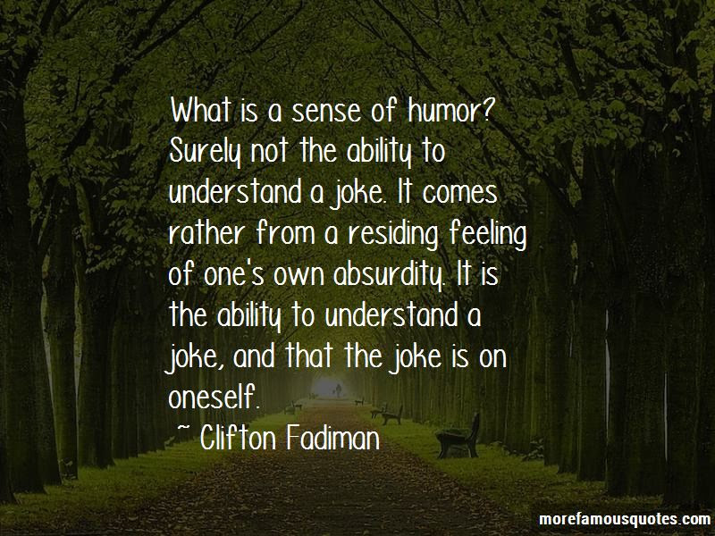 Absurdity Humor Quotes Top 12 Quotes About Absurdity Humor From