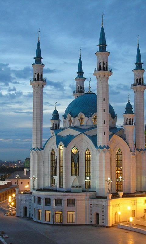 Qolsharif Mosque, Kazan Kremlin, Kazan, Russia