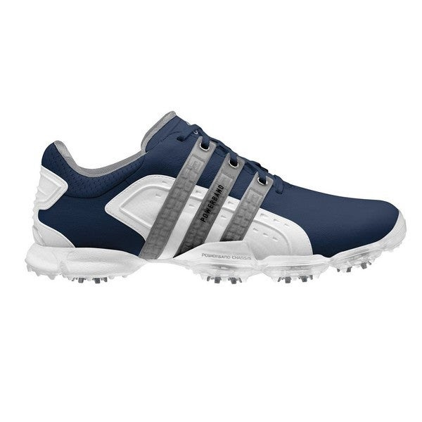 Adidas Men's Limited Edition Powerband 4.0 Navy/ White ...