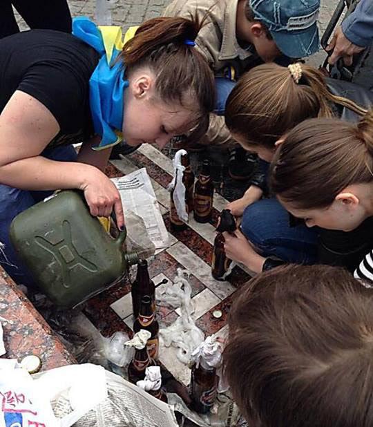 Вычислены малолетние фашистки с Одессы