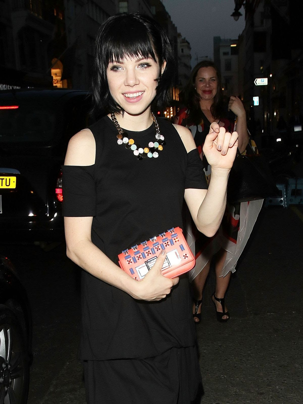 CARLY RAE JEPSEN at Fendi Anniversary Party in London