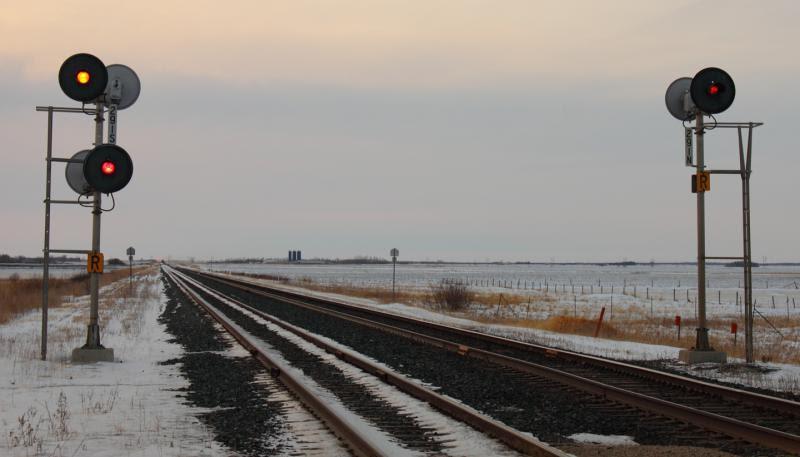 Signals at Marquette Manitoba