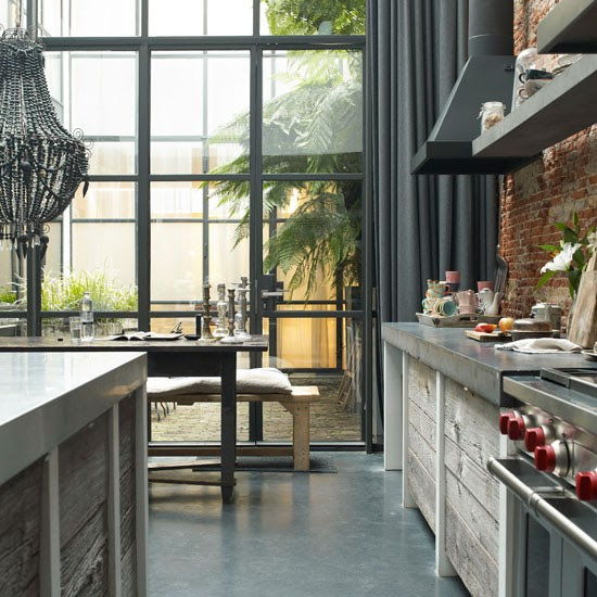 Kitchen | Take a tour around raw materials home in Amsterdam | House tour | Livingetc | PHOTO GALLERY