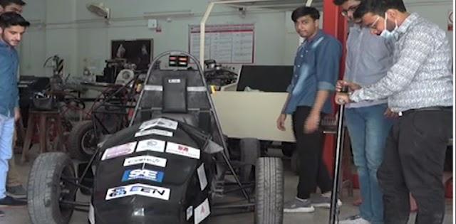 Students of NED University develop Pakistan's second Formula Electric Sports car