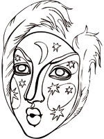 Coloriage Carnaval Sur Top Coloriages Coloriages Carnaval