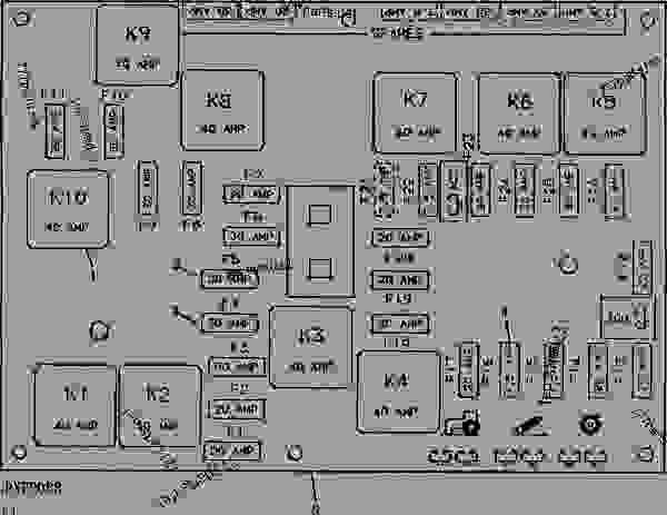 30 John Deere 6400 Fuse Box Diagram