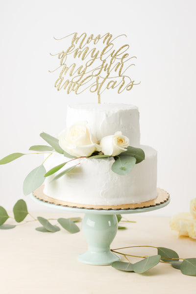 Game Of Thrones Quote Moon Of My Life My Sun And Stars Cake Topper