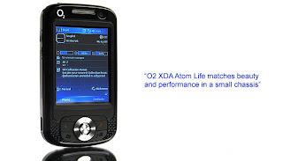 O2 XDA Atom Life