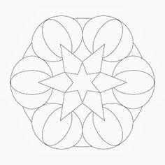 Zentangle template   Zentangles: Templates   Pinterest   Zentangle ...