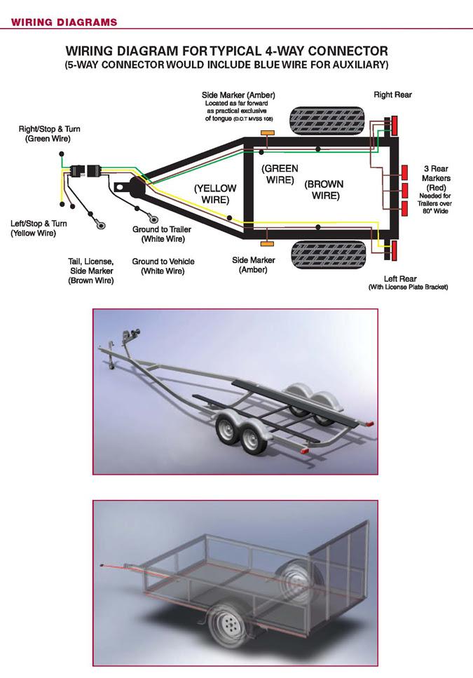 25 Led Trailer Lights Wiring Diagram